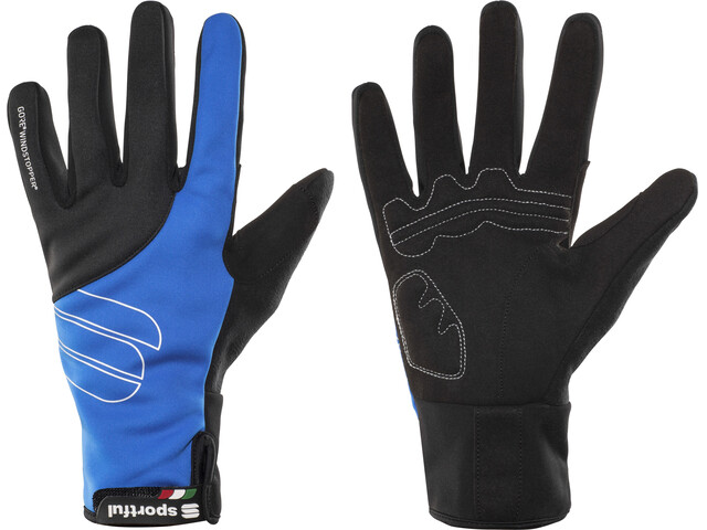 Sportful Essential WS Gloves electric blue/black